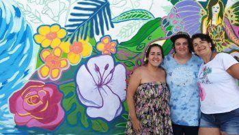 El Proyecto Selva ya tiene su propio mural