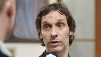 Arnaudo volvió a salir ayer públicamente a defender el ajuste que impulsa Arcioni.