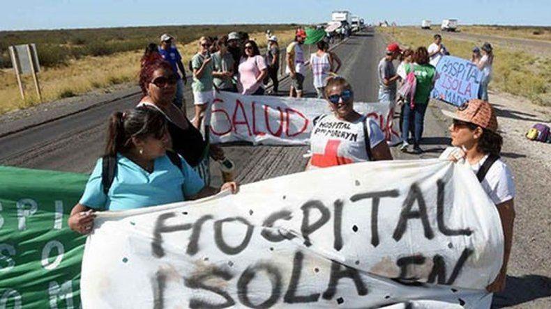 Trabajadores de la Salud volvieron a la ruta