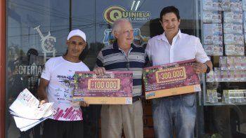 Los premios corresponden al Bingo de la Tercera Ronda y la línea de la Sexta Ronda de la jugada Nº 873 del Telebingo Chubutense.
