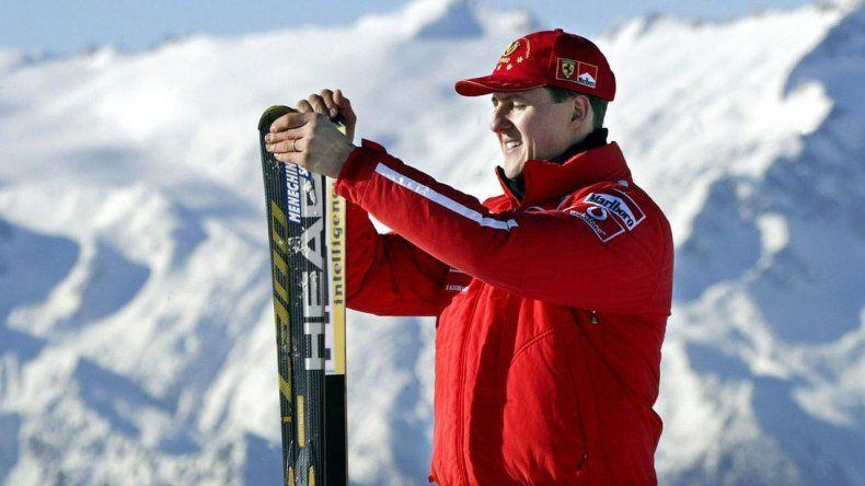 Un hombre se metió en la casa de Schumacher y lo fotografió postrado