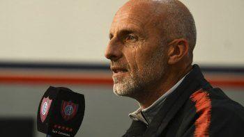 Diego Monarriz, entrenador de San Lorenzo, apuesta a que su equipo se haga fuerte en los siete partidos que quedan.
