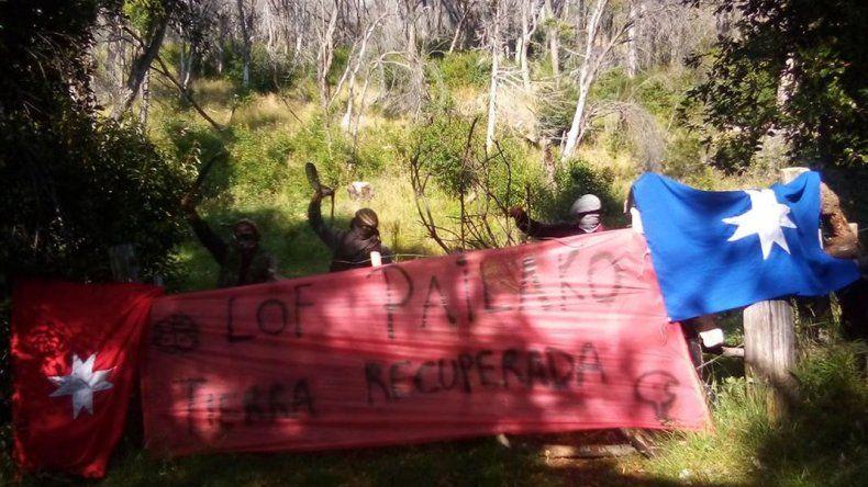 Comunidad mapuche recupera tierras del Parque Los Alerces