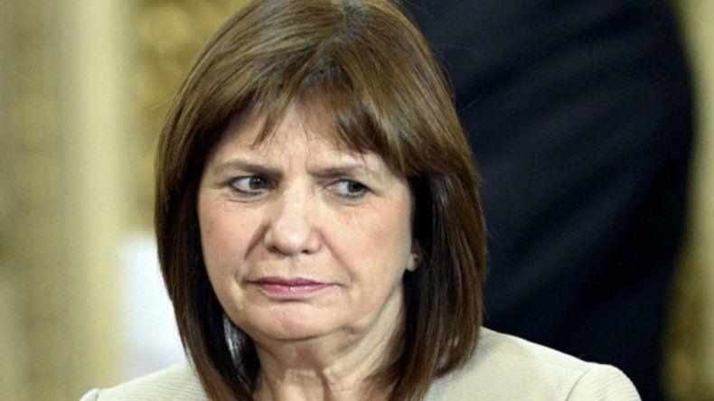 Patricia Bullrich: con una Taser, al rugbier fortachón, violento y animal lo dejás sin recursos