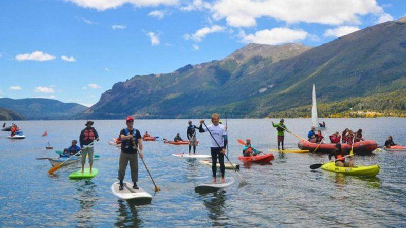 Actividades en el agua y en el aire para los turistas que visiten Bariloche