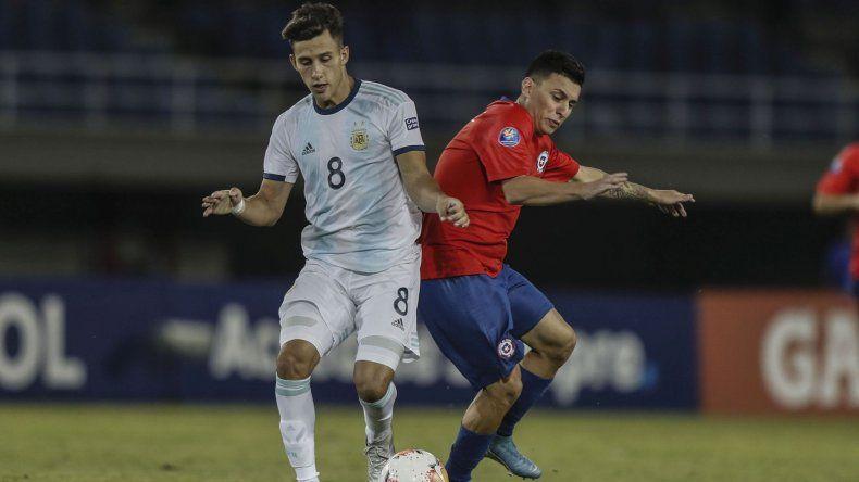 Argentina sumó el segundo triunfo en el Preolímpico Sub 23 tras vencer a Chile
