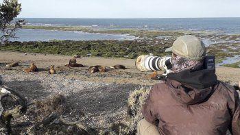El trabajo que el equipo alemán está desarrollando en Península Valdés donde volverá para la temporada de ballenas.