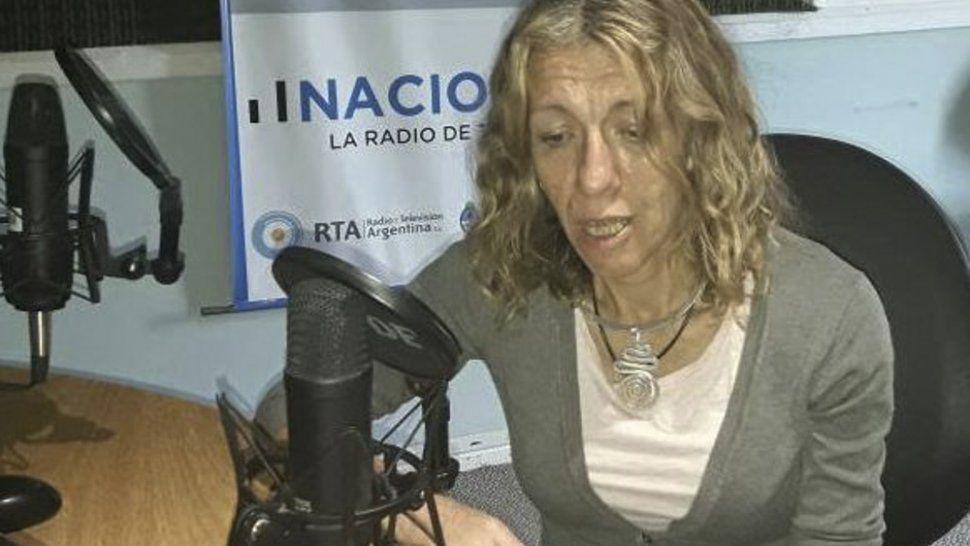 Vilma Almeida, jefa del Departamento de Epidemiología del Hospital SAMIC de El Calafate.