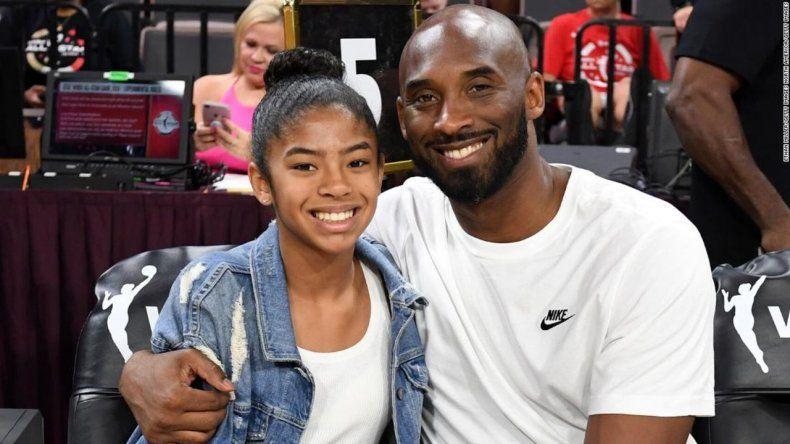 Junto a Kobe Bryant murió su hija de 13 años