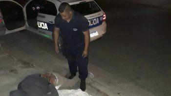 César Millaneri fue reducido a golpes por el propietario del vehículo del que intentaba sustraer un toallón y un estéreo en el Ceferino.