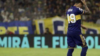 Zárate salió por precaución promediando el segundo tiempo ante Independiente, en el partido que su equipo igualó 0 a 0.