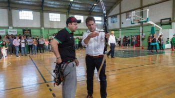 luque: estamos comprometidos con el deporte en comodoro