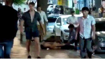 Uno de los rugbiers grabó el ataque mortal a Fernando Báez Sosa