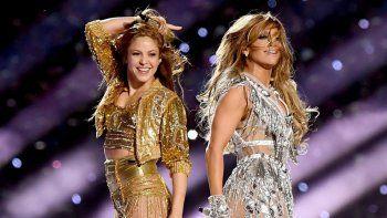 Shakira y Jennifer López brillaron en el show del Super Bowl