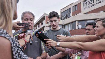 Hallaron cargadas contra Pablo Ventura en los celulares de los rugbiers