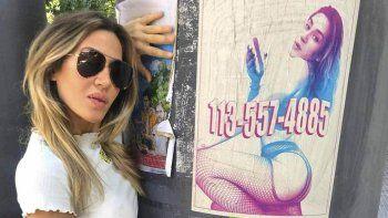 Jimena Barón habló tras la polémica por su afiche de trabajadoras sexuales