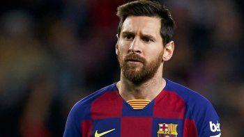 Messi está harto y estalló contra un directivo del Barcelona
