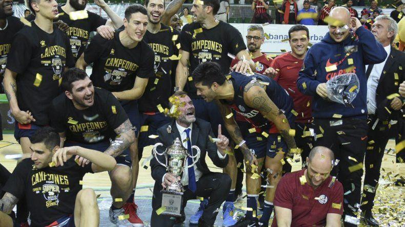 San Lorenzo viene de ganar en el Socios Fundadores el Final 4 del Super 20.