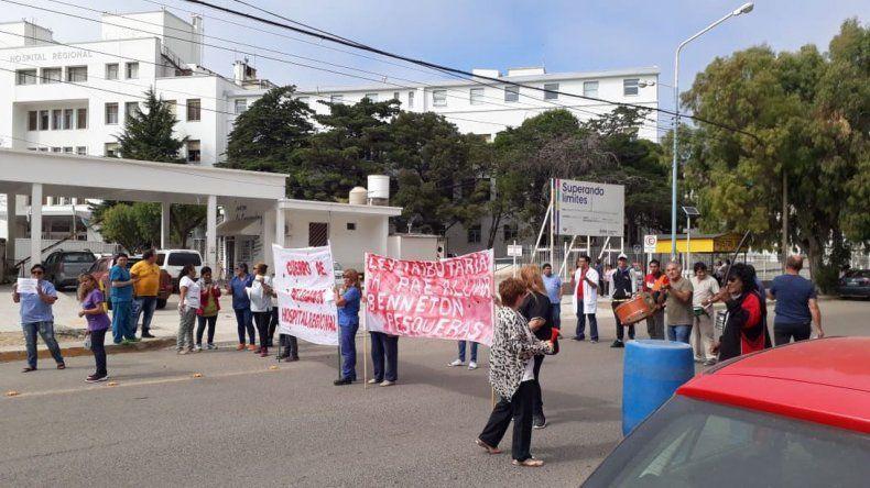 Trabajadores de la Salud hoy vuelven a movilizarse en reclamo de sus sueldos