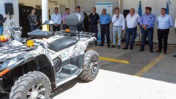 La Municipalidad entregó equipamiento para Defensa Civil
