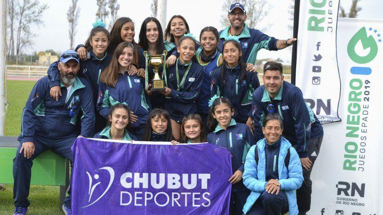 Chubut buscará ser campeón de los Juegos Epade en La Pampa