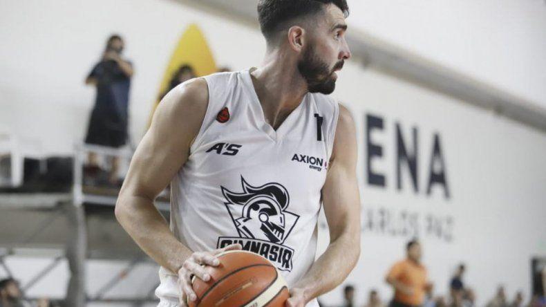 El alero Sebastián Vega viene de marcar 13 puntos