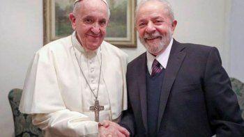 Francisco recibió a Lula y denunció el lawfare contra dirigentes populares