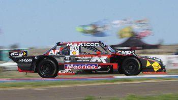 Luego de estar 23º en la primera tanda y quedar 26º en la segunda salida a pista, sobre un total de 45 máquinas, Marcelo Agrelo se metió 9º.
