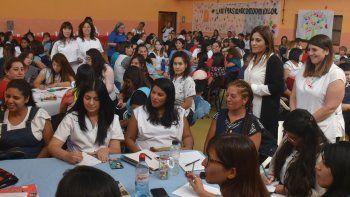 Las supervisoras regionales de educación especial, Iris Rasgido e Irene Morales, tuvieron a su cargo la coordinación de la jornada de capacitación.