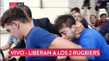 identifican al rugbier 11 y piden detener a los dos liberados
