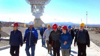 el gobierno seguira adelante la estacion espacial en neuquen