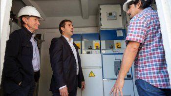 el municipio aporto un nuevo generador para el cabin