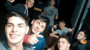 la selfie de los rugbiers sonriendo tras matar a fernando baez sosa