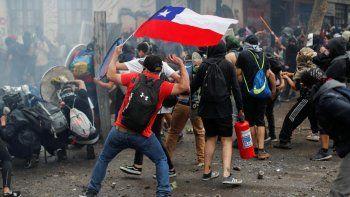 Ya son 10.000 los detenidos en Chile tras cuatro meses de protestas
