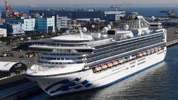 murieron dos de los pasajeros del crucero que estuvo en cuarentena