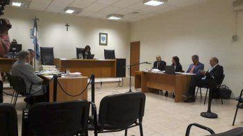 Martín Buzzi y Néstor Di Pierro en el banquillo de los acusados.