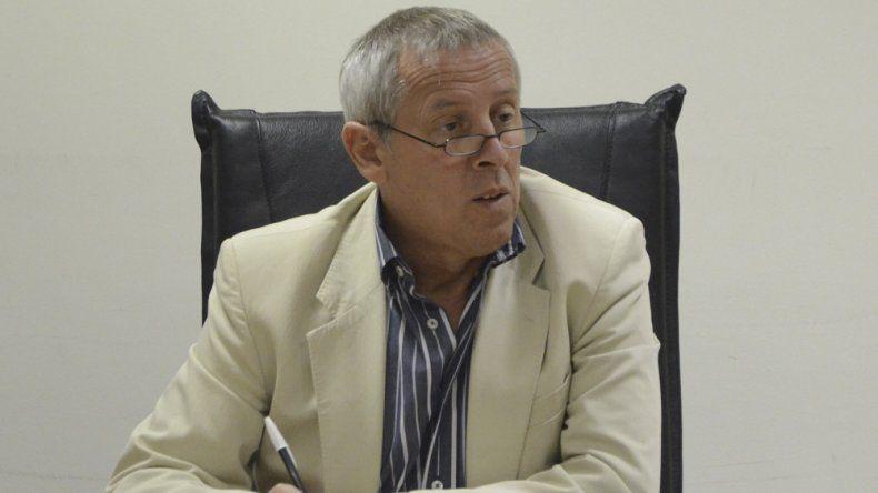 El juez penal Miguel Caviglia.
