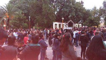 En Salta también pidieron justicia por María y su hijo asesinado