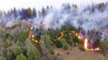 el incendio forestal en cercanias de el bolson esta contenido