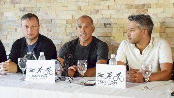Los organizadores de las competencias de triatlón y de nado en aguas abiertas, dieron a conocer pormenores de ambas instancias.