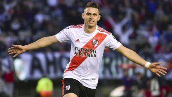 Rafael Borré intentará esta tarde reencontrarse con el gol.