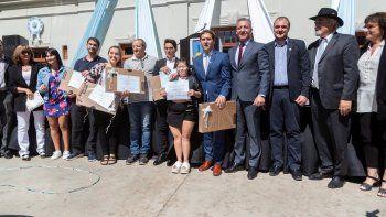 La ciudad reconoció a seis de sus jóvenes sobresalientes
