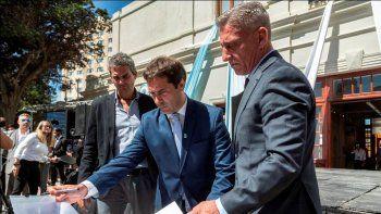 Se firmó un convenio por las obras para volver a habilitar el Camino Perón