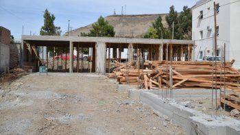 avanza la obra del edificio de fundacion crecer