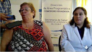 La directora del Hospital Regional, Miryám Monasterolo, encabezó la conferencia de prensa.