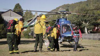 operativo rescate asistio a dos personas en el volcan lanin