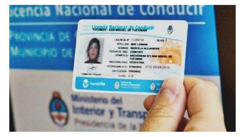 El lunes reabre el área de licencias de conducir
