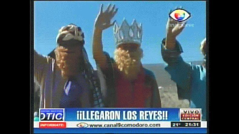 Así pasaron los Reyes por Rada Tilly. Canal 9
