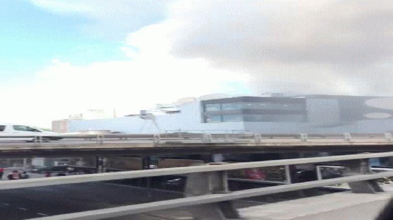 El incendio en Canal 13 y TN está controlado