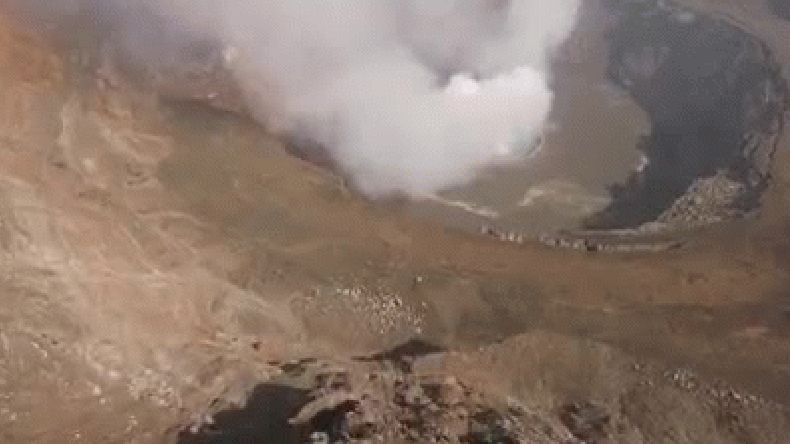 Video difundido por La Tercera - Chile